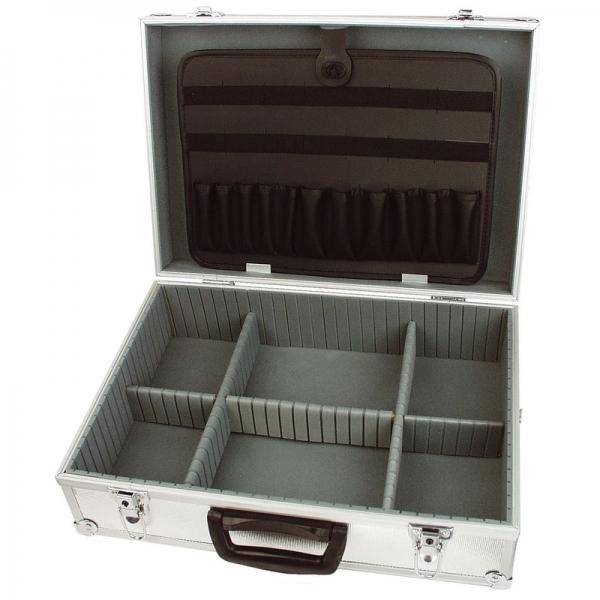 Cutie de scule din aluminiu Mannesmann M214-1, 34.4 x 15.8 x 45.4 cm [0]