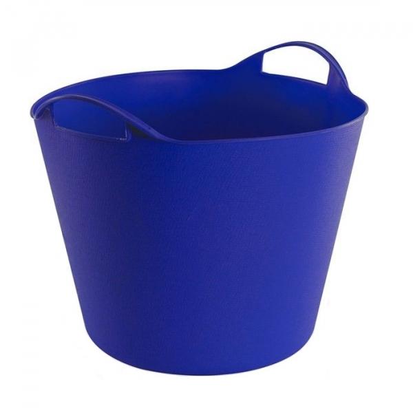Cos de rufe flexibil manere Dema DEMA15141, 25 l, albastru poza casaidea 2021
