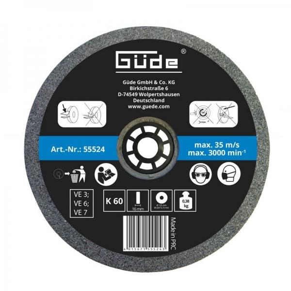 Disc abraziv pentru polizor de banc Guede Gude55524 O175x25x32 mm granulatie K36( 469210)