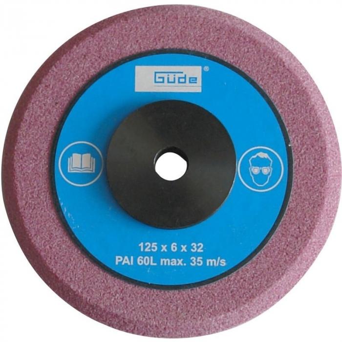Disc de rezerva pentru masina electrica pentru ascutire disc fierastrau GSS 700 P Guede GUDE94221, O125x32 mm poza casaidea 2021