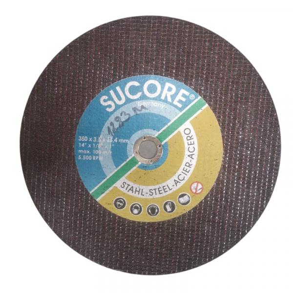 Disc de rezerva pentru taiat metal Mannesmann M1283-M, O350x25.4x3 mm casaidea.ro