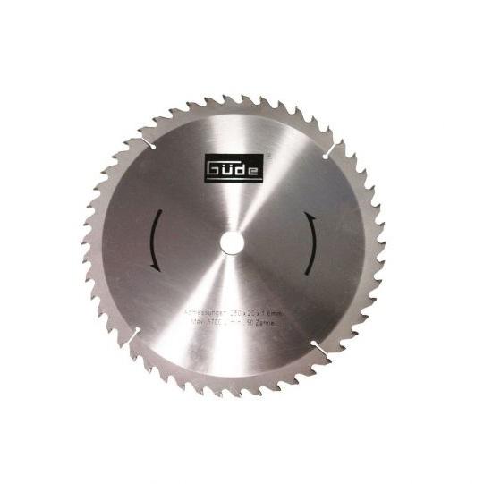 Disc pentru fierastrau circular, taiere lemn Guede GUDE55076, O210x30 mm, 60 dinti casaidea.ro