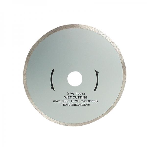 Disc diamantat pentru masini de taiat gresie Mannesmann M631 500ES O180 mm( 467235)