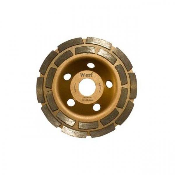 Disc dublu diamantat, taiere beton Wert W2740-100, O100x22.23 mm( 510729)