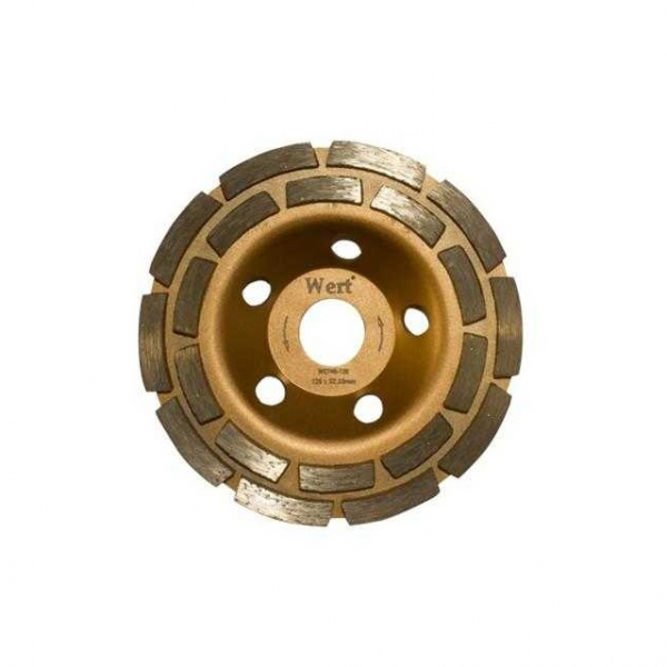 Disc dublu diamantat, taiere beton Wert W2740-125, O125x22.23 mm( 510730)