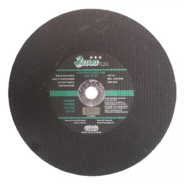 Disc pentru taiat piatra Mannesmann M1283-ST, O350x25.4x3 mm casaidea.ro