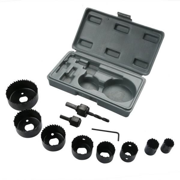 Dispozitiv ajustabil de gaurit gips-carton Wert W2520, Ø22-64 mm, 11 piese 1
