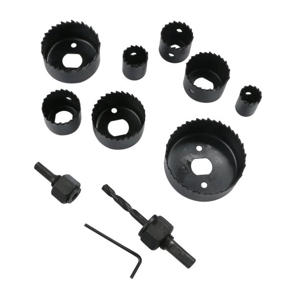 Dispozitiv ajustabil de gaurit gips-carton Wert W2520, Ø22-64 mm, 11 piese 2