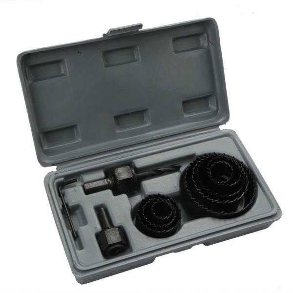 Dispozitiv ajustabil de gaurit gips-carton Wert W2520, Ø22-64 mm, 11 piese 0