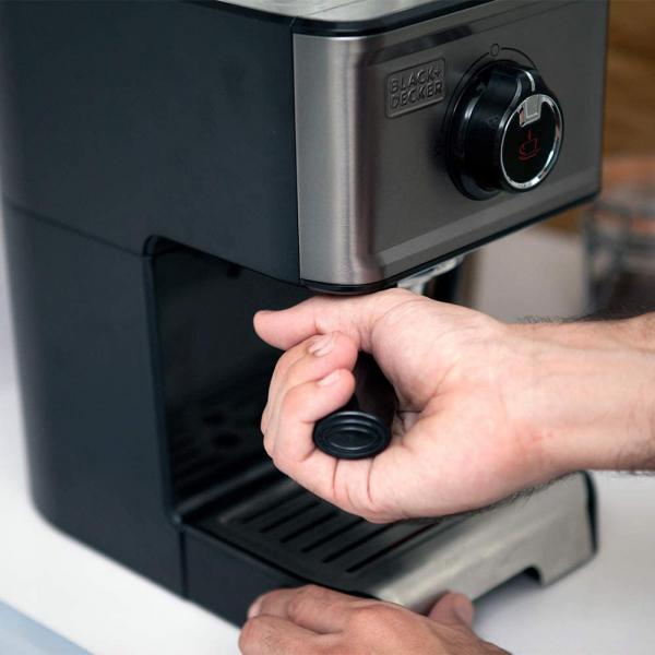 Espressor manual BXCO1200E Black&Decker B+DES9200010B, 1200W 4