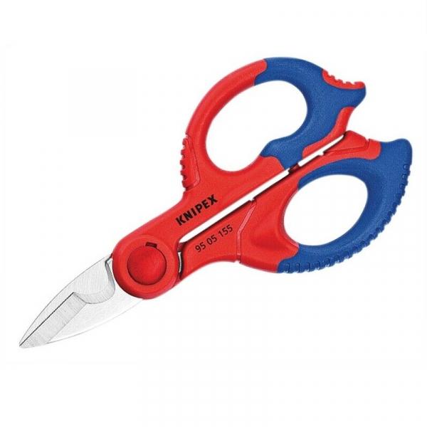 Foarfeca de electrician Knipex KNI9505155SB, 155 mm