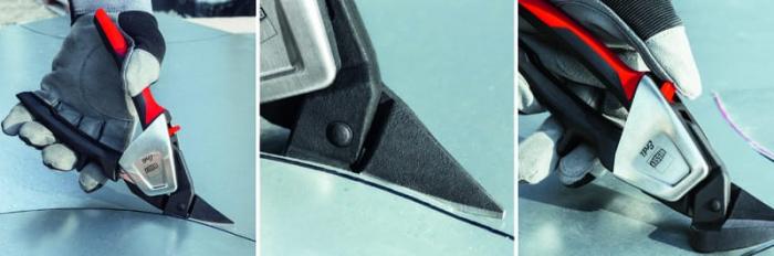 Foarferca de taiat tabla, taiere pe dreapta Bessey BESD39ASS, 230 mm [6]