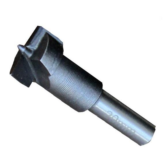 Freza pentru gauri in lemn armata cu placa de carbura de wolfram Wert W2502, Ø20 mm [0]