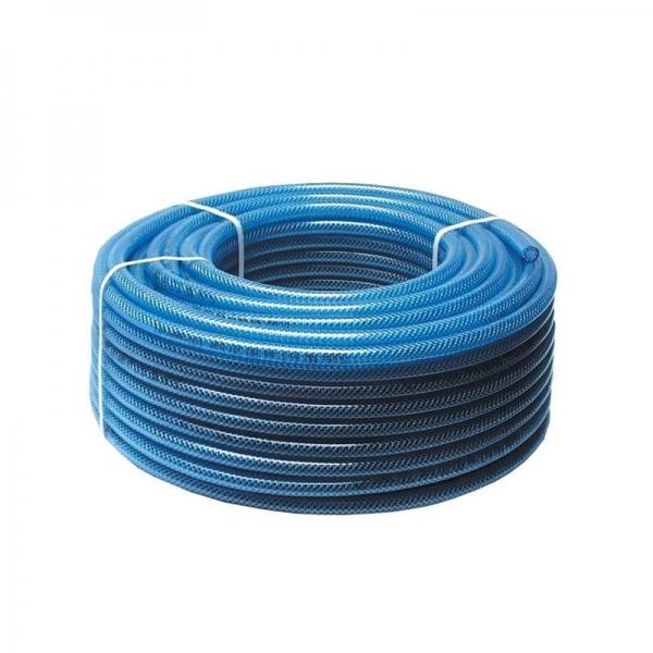 Furtun aer comprimat din PVC cu insertie textila 50 m Guede GUDE02822 13 mm title=Furtun aer comprimat din PVC cu insertie textila 50 m Guede GUDE02822 13 mm