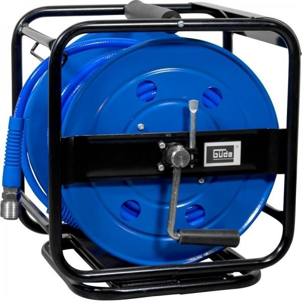 Furtun aer comprimat cu tambur 30 m Guede GUDE2881 title=Furtun aer comprimat cu tambur 30 m Guede GUDE2881