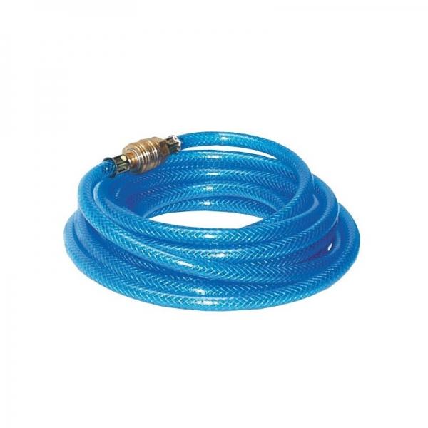 Furtun aer comprimat din PVC cu insertie textila Guede GUDE41402, 5 m, 6 mm casaidea.ro