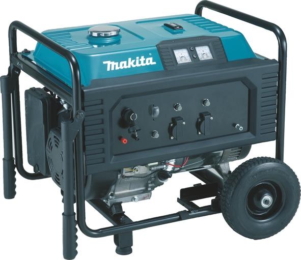 Generator de curent pe benzina Makita EG4550A, 4500 W, 12 V, 8.3 A casaidea.ro