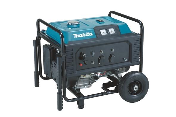 Generator de curent pe benzina Makita EG6050A, 6000 W, 12 V, 8.3 A casaidea.ro