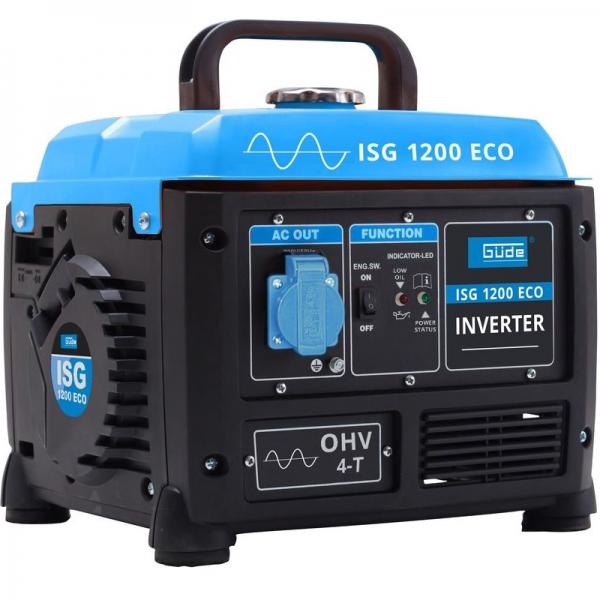 Generator de curent pe benzina cu invertor ISG 1200 ECO Guede GUDE40657, 1200 W GÜDE