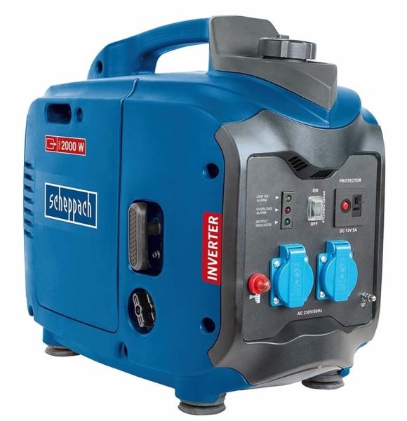 Generator de curent pe benzina cu invertor SG2000 Scheppach SCH5906208901, 2000 W, 2.86 Cp casaidea.ro