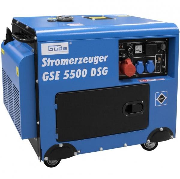 Generator de curent pe benzina GSE 5500 Guede GUDE40586, 5000 W, 10 Cp poza casaidea 2021