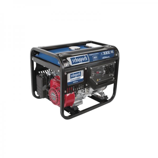 Generator de curent pe benzina SG3500 Scheppach SCH5906209901, 3000 W, 6.5 Cp casaidea.ro