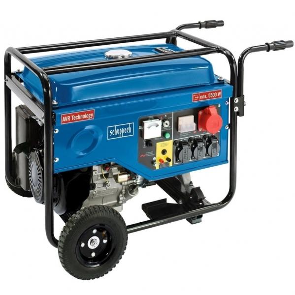 Generator de curent pe benzina SG7000 Scheppach SCH5906210901, 3600 W, 13 Cp casaidea.ro