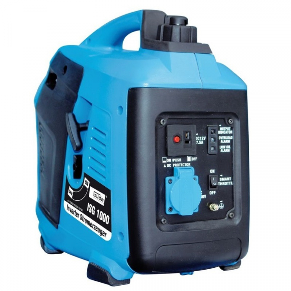 Generator de curent pe benzina cu invertor ISG 1000 Guede GUDE40645, 1000 W, 1.8 Cp poza casaidea 2021