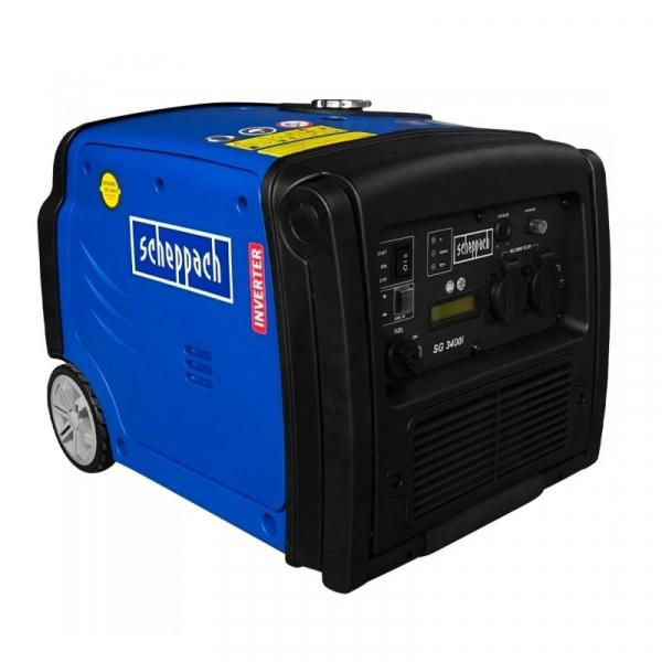 Generator de curent pe benzina cu invertor SG3400i Scheppach SCH5906217901, 3400 W, 5.1 Cp poza casaidea 2021