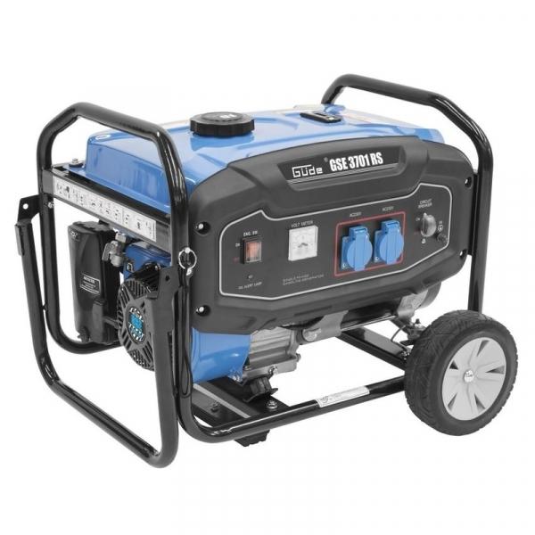 Generator de curent pe benzina GSE 3701 RS Guede GUDE40728, 2800 W casaidea.ro