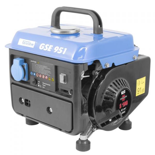 Generator de curent pe benzina GSE 951 Guede GUDE40726, 650 W poza casaidea 2021