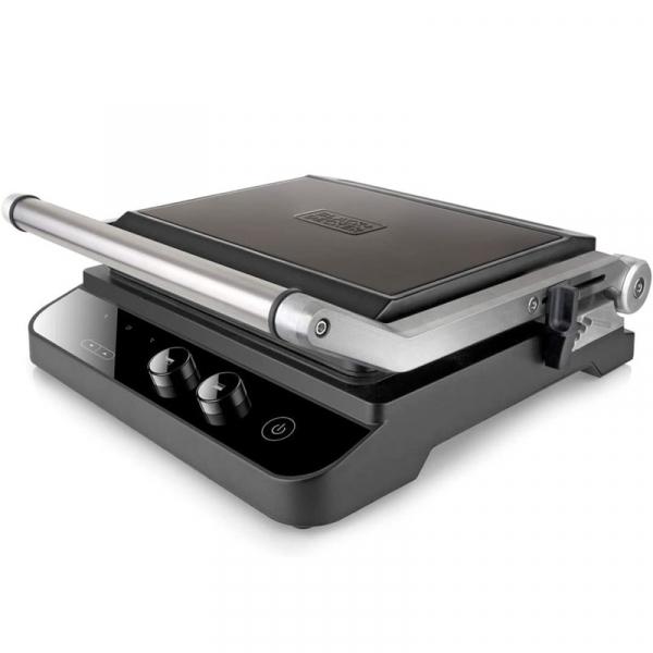 Gratar electric BXGR2000E Black Decker B+DES9680030B, 2000 W Black & Decker