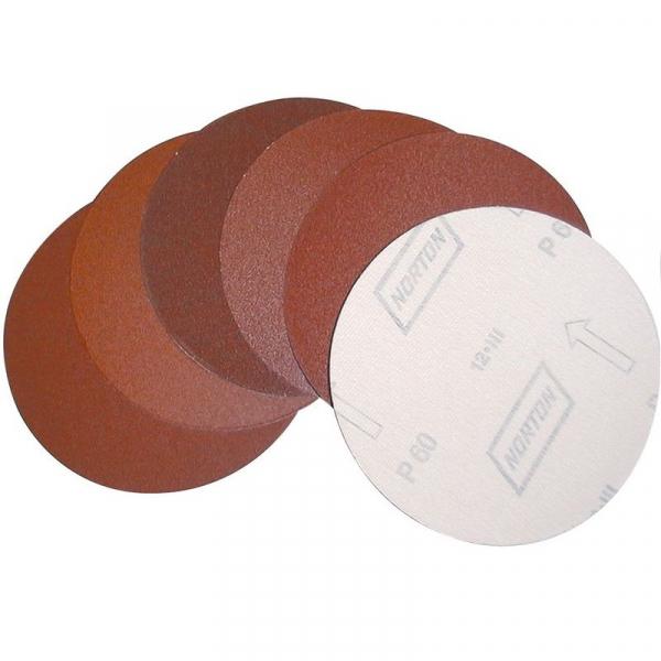 Set discuri abrazive Velcro pentru GBTS 1100 Guede GUDE38359, O230 mm, K 120, 5 bucati( 511006)