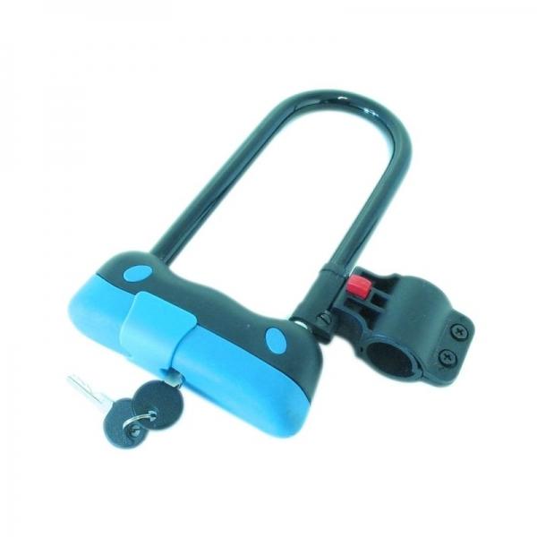 Lacat antifurt bicicleta tip U Filmer FLMR43116, 210x130x40 mm FILMER