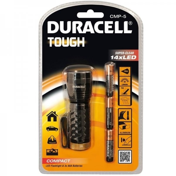 Mini-lanterna Duracell DURACELLTOUGHCMP-5, 64 lm imagine 2021