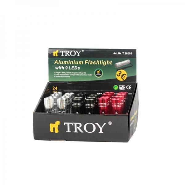 Mini-lanterna led Troy T28095, 12 lm 3