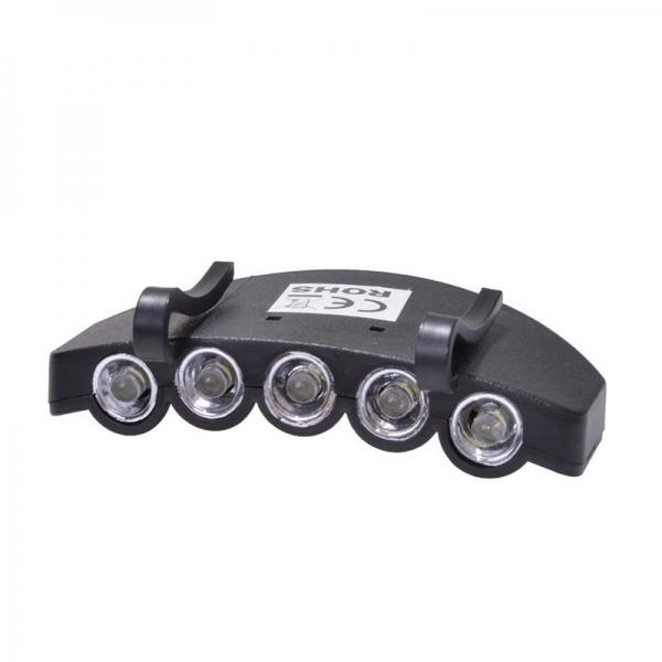 Lanterna cu sistem de prindere pe sapca pentru vanatoare si pescuit Filmer FLMR36170, 5 LED-uri imagine 2021