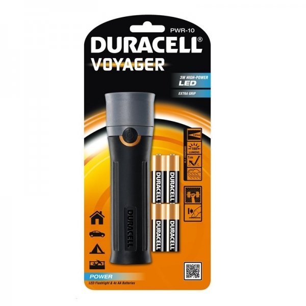 Lanterna LED Duracell DURACELLVOYAGERPWR-10, 188 lm imagine 2021