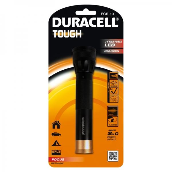 Lanterna Duracell DURACELLTOUGHFCS-10, 134 lm - CNL imagine 2021