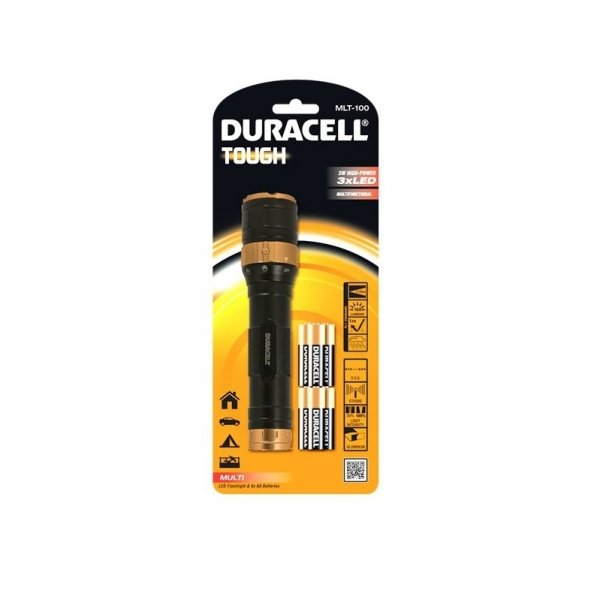 Lanterna Tough MLT 100 Duracell DURACELLTOUGHMLT-100, 188 lm imagine 2021