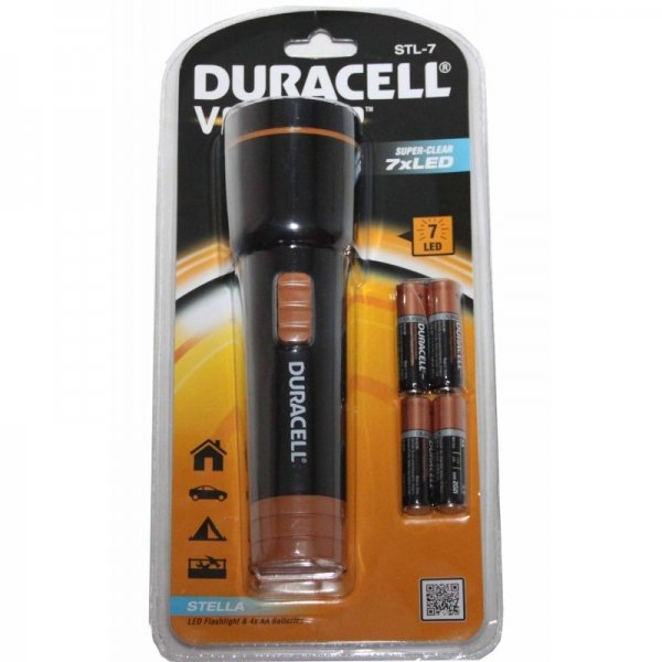 Lanterna LED Duracell DURACELLVOYAGERSTL-7, 30 lm imagine 2021