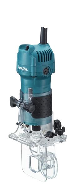 Masina de frezat unimanuala Makita 3710, 530 W, 30000 rpm casaidea.ro