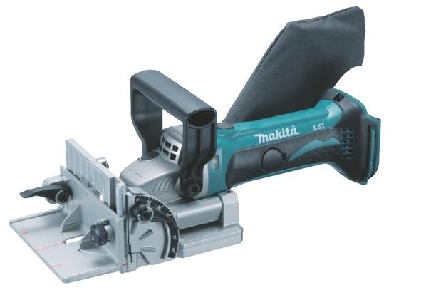 Masina pentru imbinari in lemn fara acumulator Li-Ion Makita DPJ180Z, 6500 rpm casaidea.ro
