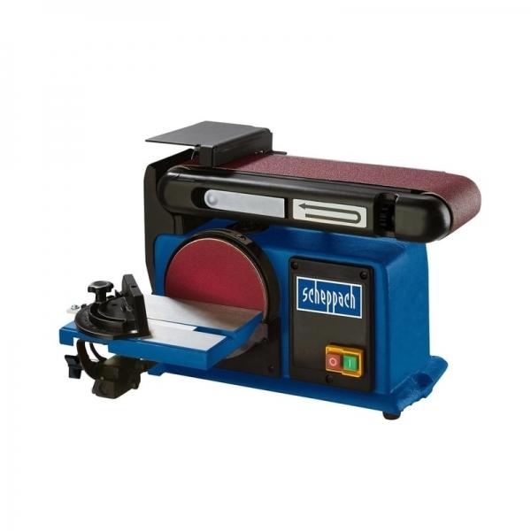 Masina de slefuit cu banda si disc BTS900 Scheppach SCH5903306901, 370 W, 2850 rpm poza casaidea 2021