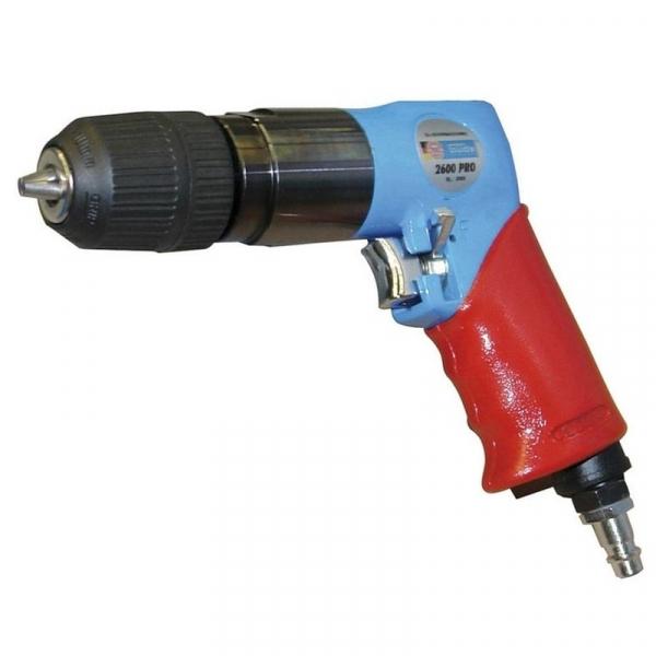 Masina de gaurit pneumatica (R+L) 2600 PRO Guede GUDE75150, 2600 rpm poza casaidea 2021