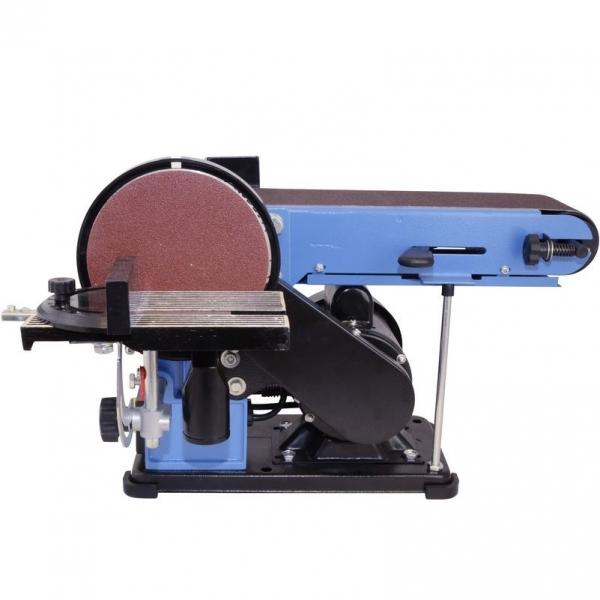 Masina de slefuit cu banda stationara si disc slefuitor GBTS 400 Guede 55135, 350 W, 1450 rpm casaidea.ro