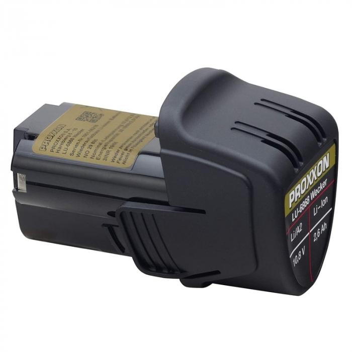 Masina de slefuit oscilobatanta cu banda pe acumulator BS/A Proxxon PRXN29810, 10.8 V, 200-700 m/min 6