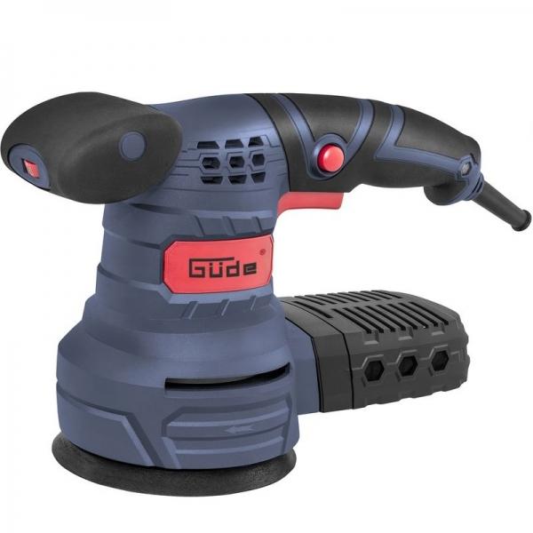 Masina de slefuit rotativa EXS 125 E Guede GUDE58130, 380W, O125 mm casaidea.ro