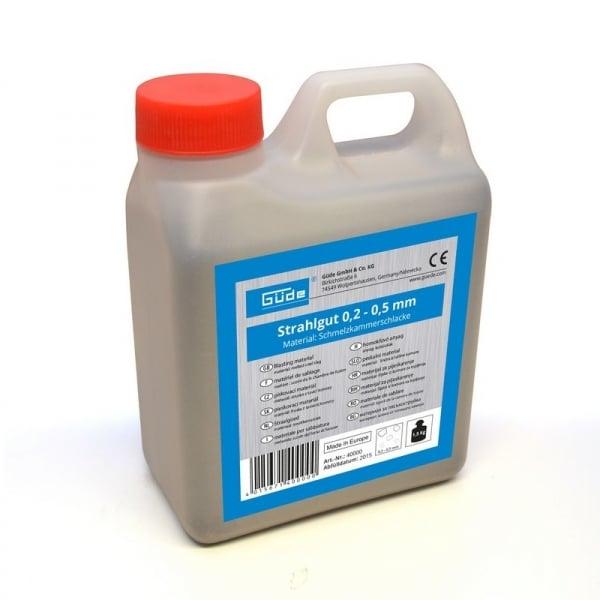 Material pentru sablare 1.5 kg Guede GUDE4000, 0.2-0.5 poza casaidea 2021