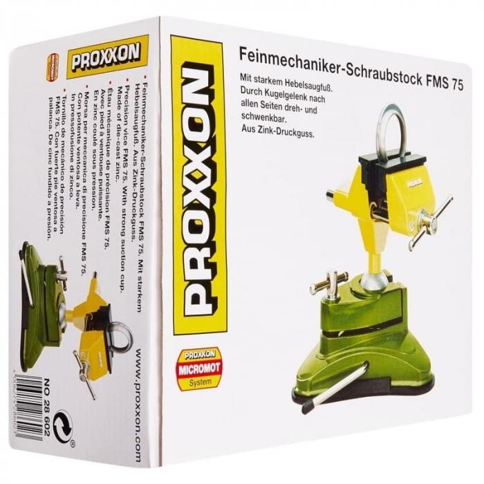 Menghina rotativa 360º FMS 75 Proxxon PRXN28602, 70 mm 17